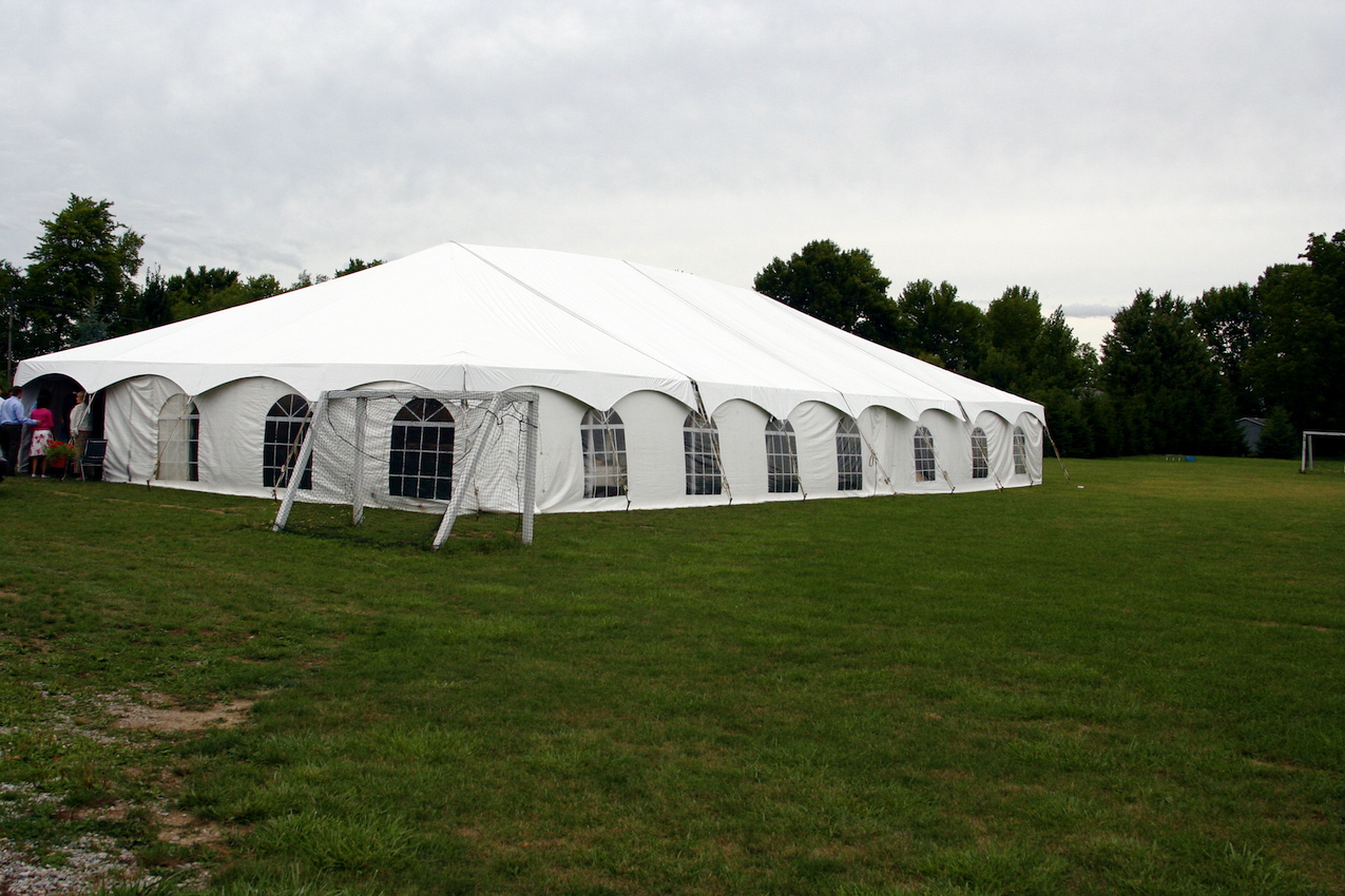 wedding tent rental london ontario
