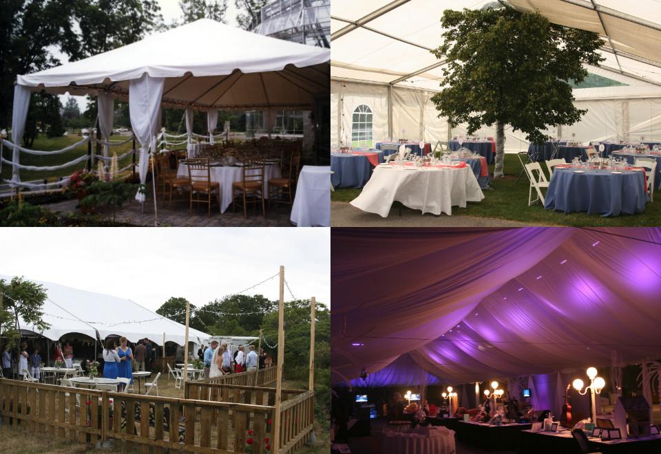 outdoor wedding event tent rentals london ontario